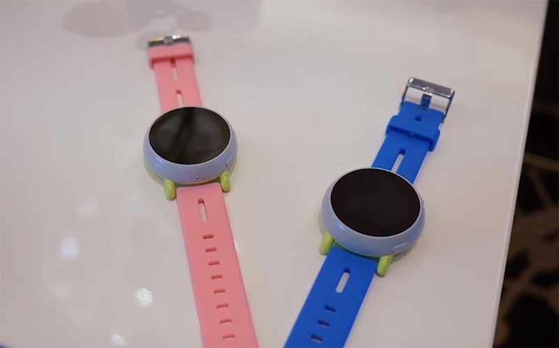 Coolpad Dyno – детские GPS-часы с поддержкой 4G LTE и процессором Snapdragon Wear 2100
