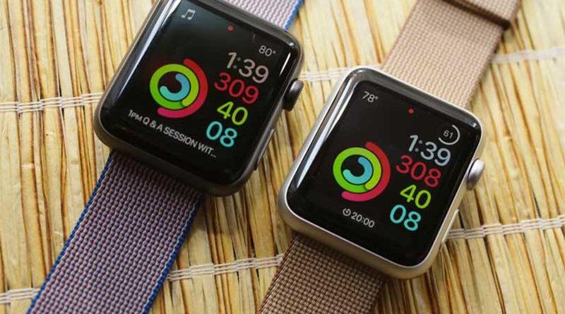 светодиодный ремешок для Apple Watch