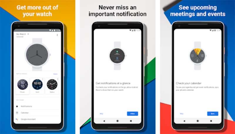Google начинает выпускать обновление Wear OS 2.3