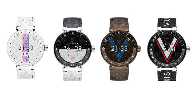 Умные часы Louis Vuitton Tambour Horizon 2019