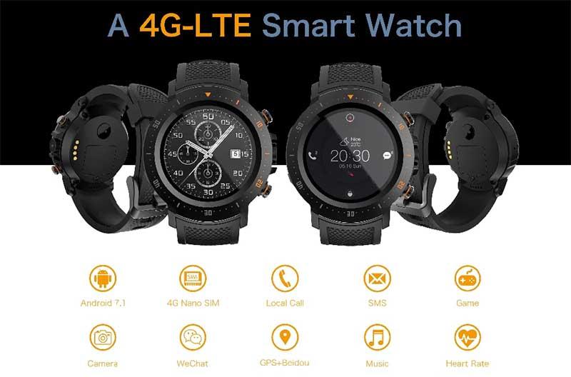 Makibes A4 4G LTE Smartwatch