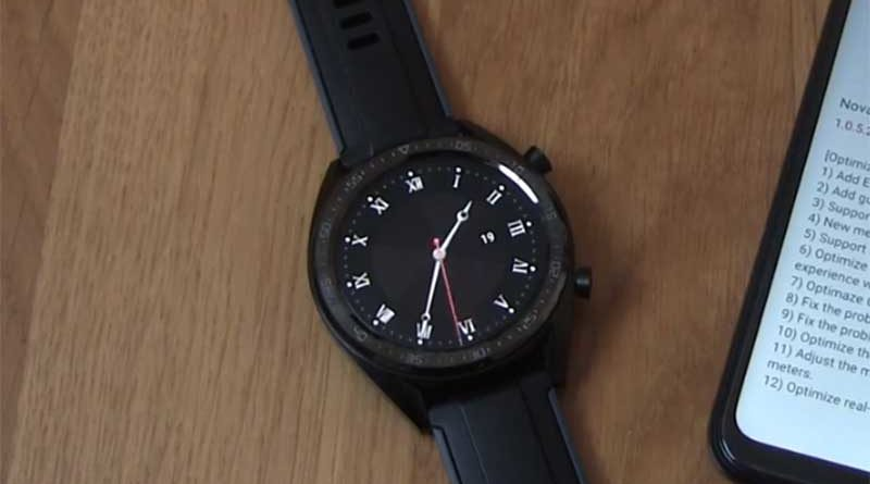 Обновление Huawei Watch GT