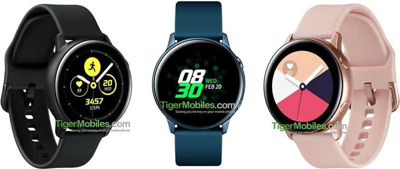 Умные часы Samsung Galaxy Sport (Watch Active) появились на качественных изображениях