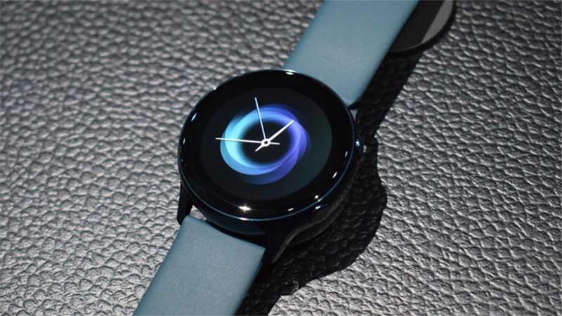 46301630 Samsung Galaxy Watch Active представлены официально: цена, характеристики и  дата начала продаж