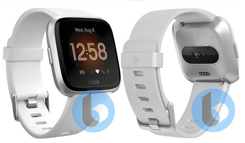 В сети появились рендеры умных часов Fitbit Versa 2