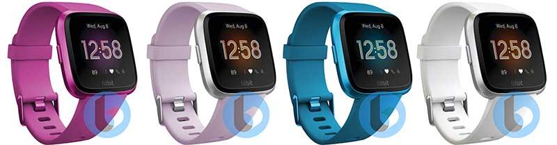 рендеры умных часов Fitbit Versa 2