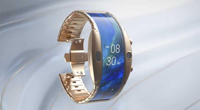 Гибрид смартфона и умных часов Nubia Alpha