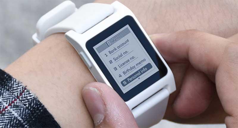 VLA Smart Watch: простые умные часы с экраном E-Ink и автономностью до 100 дней