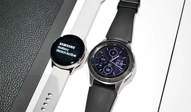Сравнение умных часов Samsung Galaxy Watch Active и Galaxy Watch