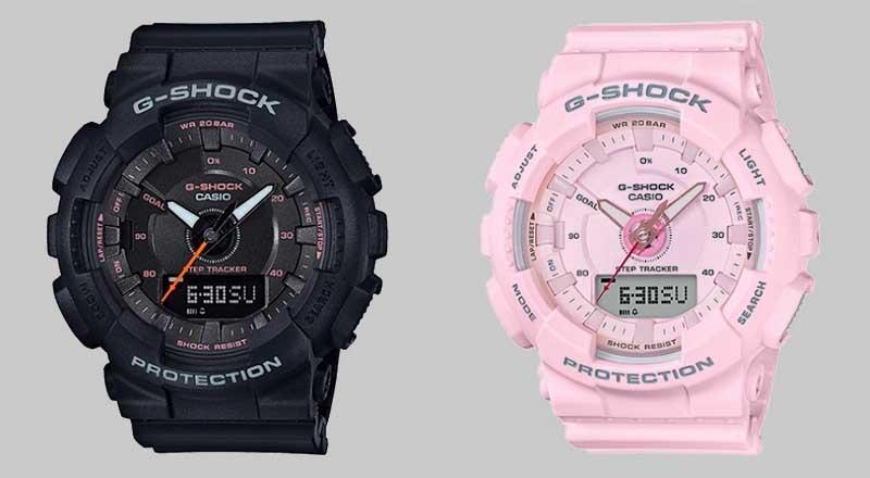 G-Shock Women GMAS120 и GMAS130