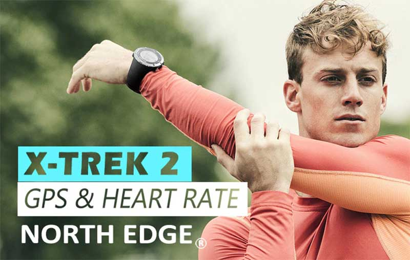 North Edge X-Trek 2 Smartwatch