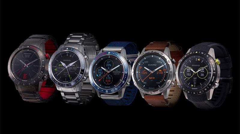 Garmin представила коллекцию умных часов MARQ