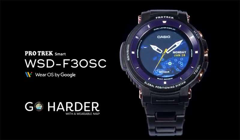 Casio ProTrek WSD-F30SC
