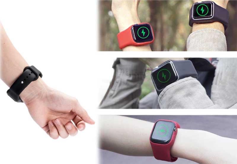 Batfree – ремешок для умных часов Apple Watch со встроенным аккумулятором емкостью 600 мАч
