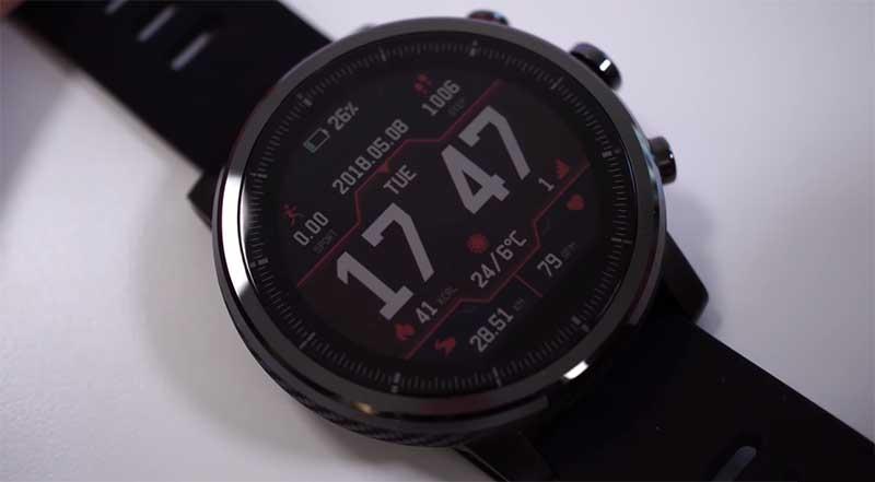 Прошивка 2.3.9.1 для Amazfit Stratos исправит проблему с GPS и измерением пульса