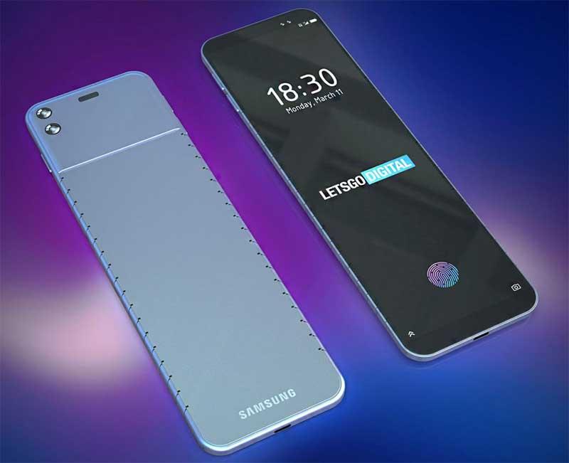 Samsung запатентовала гибкий наручный смартфон-часы