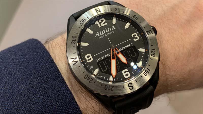 Гибридные часы Alpina AlpinerX 2019