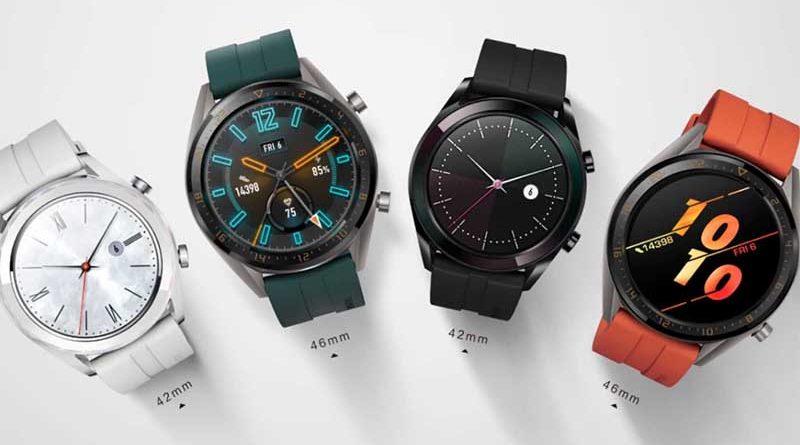 Умные часы Huawei Watch GT Active и Elegant представлены официально: цена и характеристики