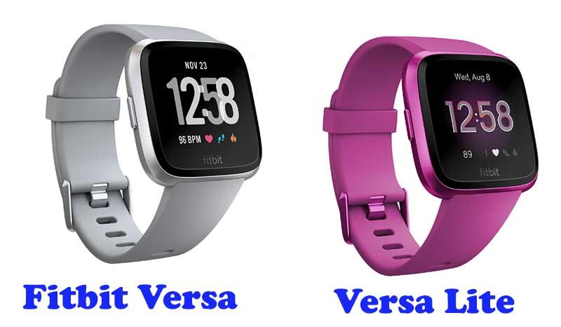 Fitbit Versa и Fitbit Versa Lite Edition: Дизайн