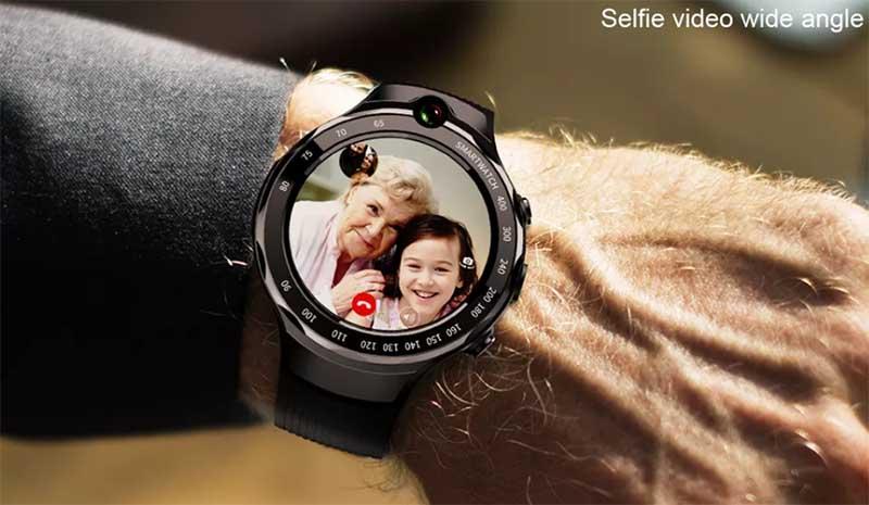 LOKMAT LOK 02 4G: умные часы с GPS, 4G, двойной камерой и AMOLED-экраном