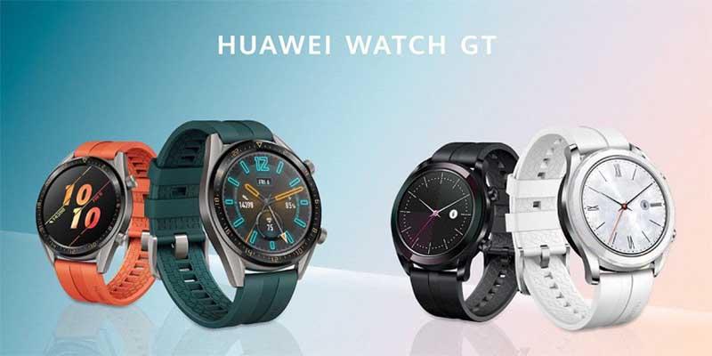 Умные часы Huawei Watch GT Active и Elegant