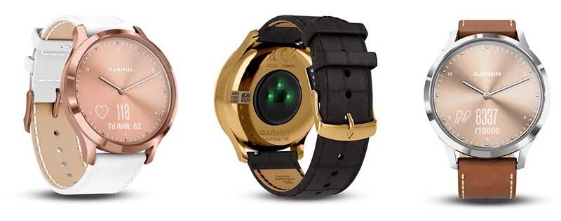 Умные часы Garmin Vivomove HR выпущены в новых цветах