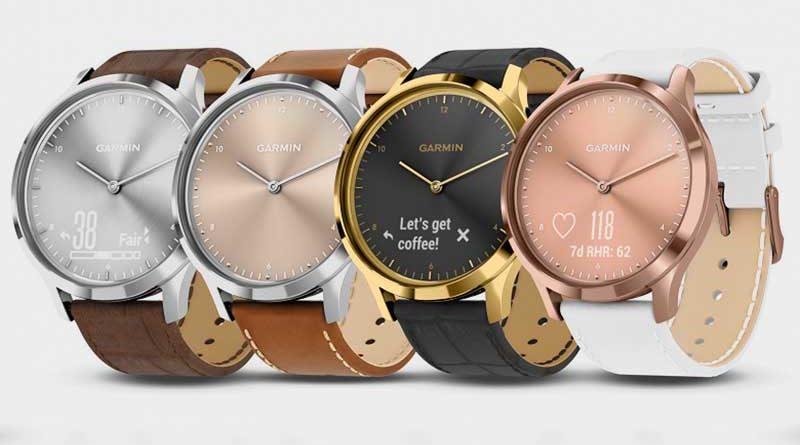 Умные часы Garmin Vivomove HR