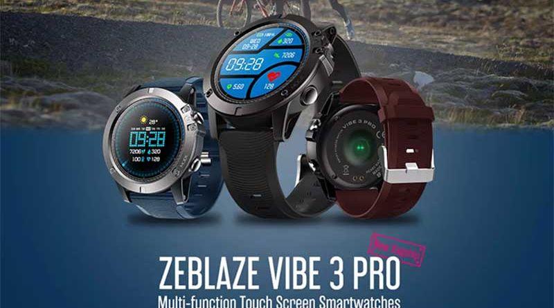Обзор смарт-часов Zeblaze VIBE 3 Pro