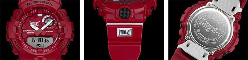 Casio совместно с Everlast выпустила часы G-SHOCK GBA800EL-4A