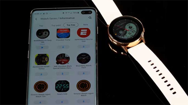 Обновление Samsung Galaxy Watch Active