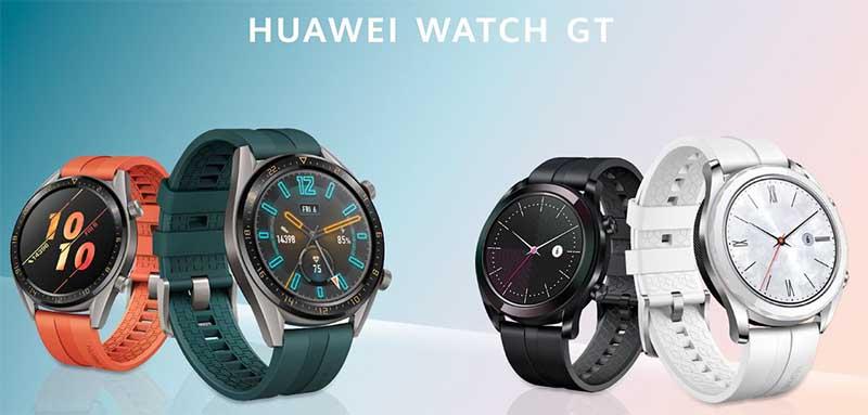 Huawei Watch GT Active (слева) и Elegant (справа)