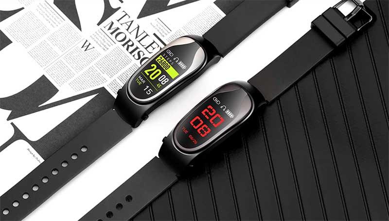 Kingwear KR04: 2 в 1, фитнес-браслет и Bluetooth-гарнитура