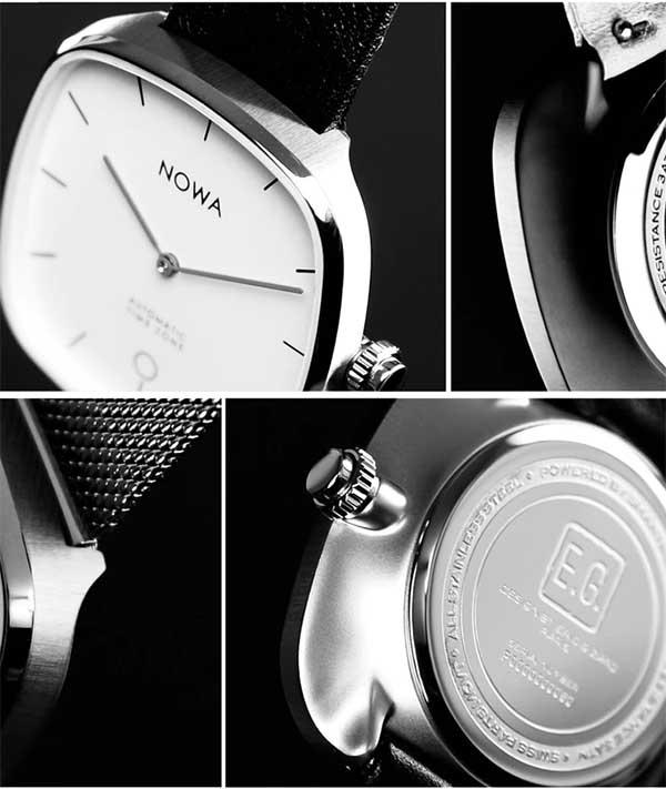 NOWA Superbe - новые гибридные смарт- часы от NOWA Paris