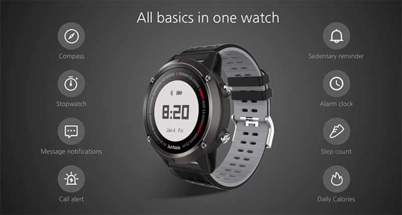 Runtopia S1 – простые и доступные GPS-часы для бега
