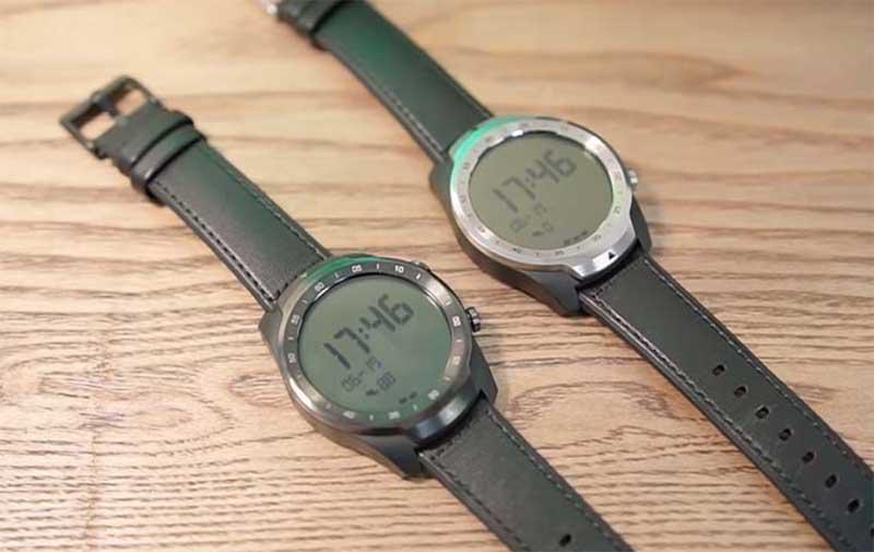 Смарт-часы с NFC и двойным экраном