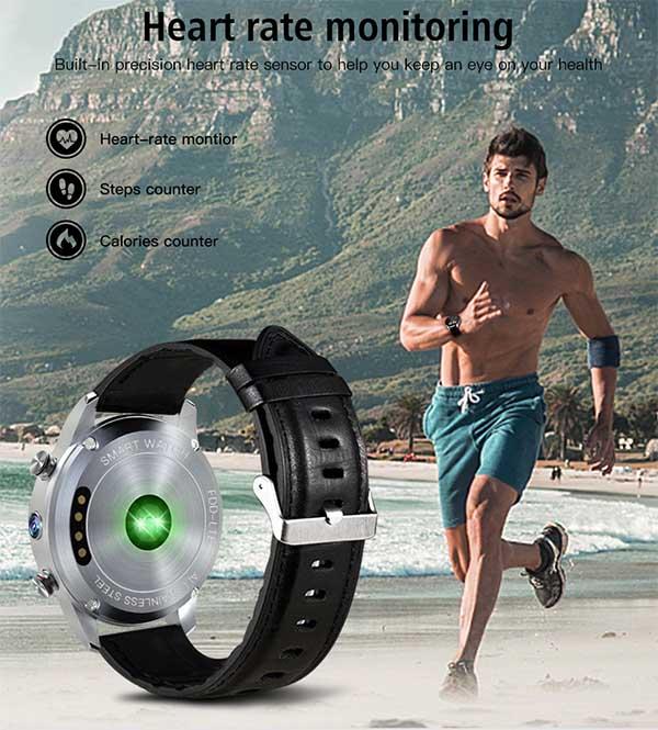 LEMFO LEF3 – стильные и многофункциональные умные часы с SIM-картой и камерой