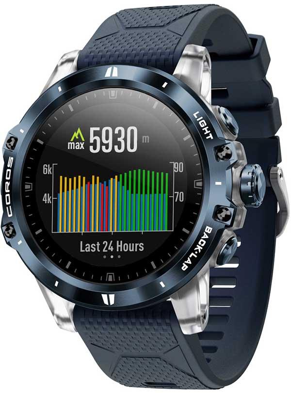 Coros VERTIX: смарт-часы для экстремалов и любителей путешествий