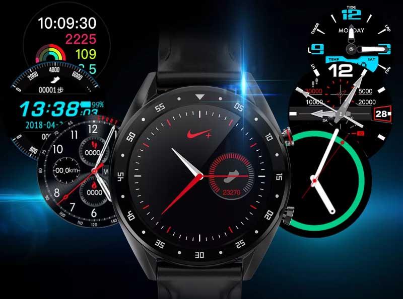 Смарт-часы Microwear L7: клон Huawei Watch GT с ЭКГ и измерением давления за 50 долларов
