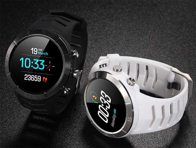 NO.1 анонсировала спортивные смарт-часы DT08 с барометром и измерением артериального давления