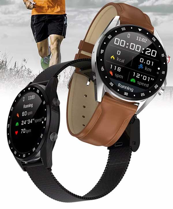 Фитнес-часы с ЭКГ Microwear L7 1