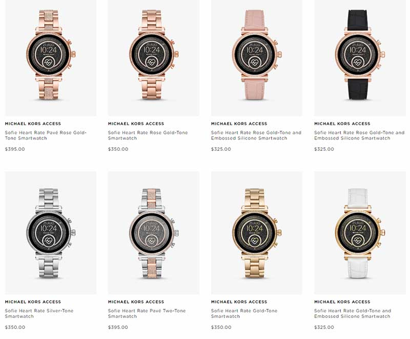 Michael Kors Access Sofie Heart Rate