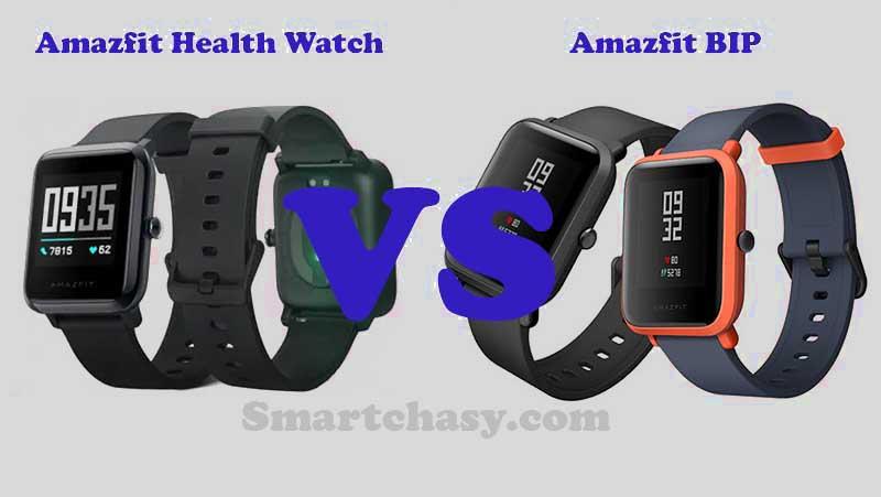 Amazfit Health Watch и Amazfit BIP