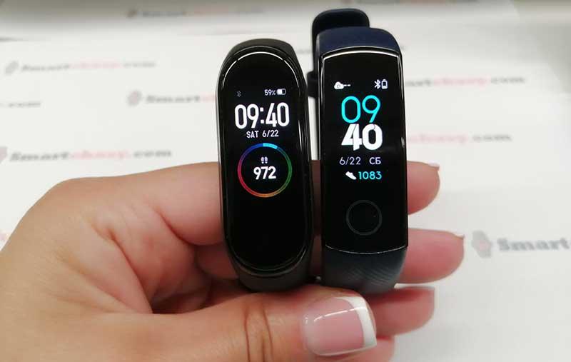 Xiaomi Mi Band 4 или Honor Band 4: какой фитнес-браслет выбрать?