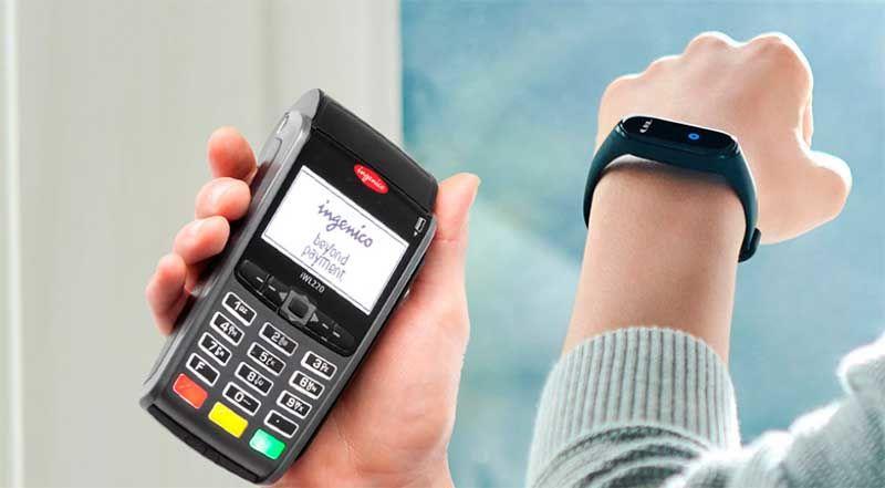 Фитес-браслет с NFC