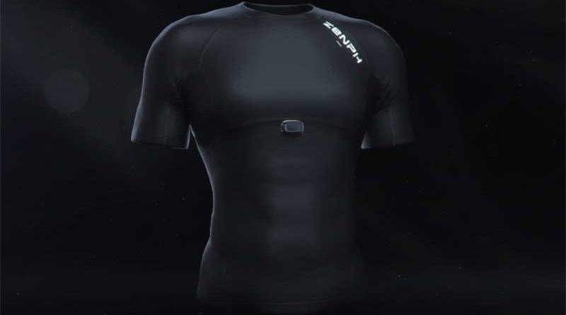 """Xiaomi Zenph Smart Fitness Sportswear: """"умная"""" футболка со встроенным фитнес-трекером 1"""