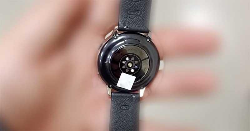 Первые живые фотографии часов Samsung Galaxy Watch Active 2