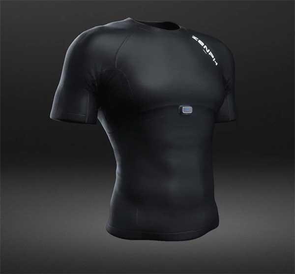 """Xiaomi Zenph Smart Fitness Sportswear: """"умная"""" футболка со встроенным фитнес-трекером 2"""