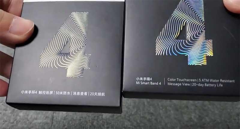 Xiaomi Mi Band 4 и Xiaomi Mi Smart Band 4