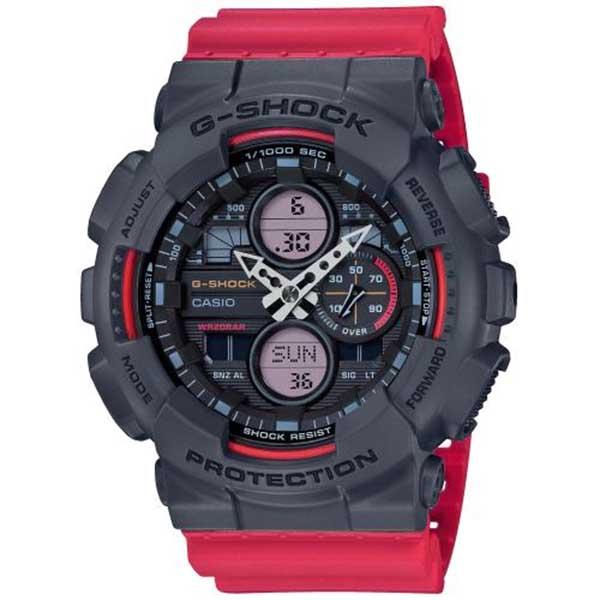 Casio представила новую линейку аналогово-цифровых часов G-Shock GA-140