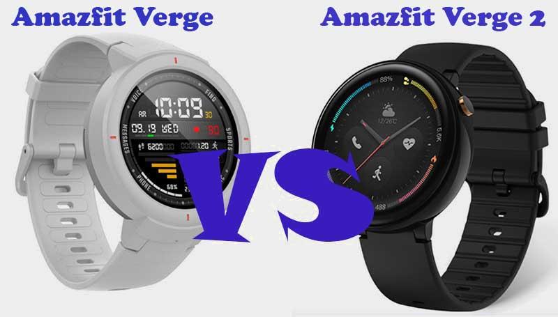 Amazfit Verge и Amazfit Verge 2